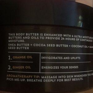 bath and body work Makeup - Bath Body Work Aromatherapy Orange Ginger Butter